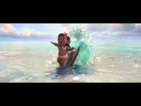 【映像解禁!】ディズニー最新作『モアナと伝説の海』美しすぎる海と愛らしいヒロイン特報
