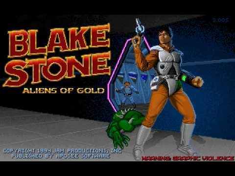 """Blake Stone - Aliens of Gold Soundtrack - """"M1F2: Technical Planning Offices"""""""