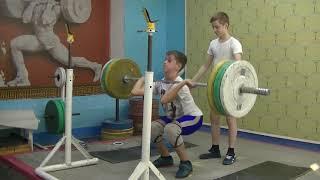 Маклаков Тимур, 14 лет, собст вес 54 Пр  гр  80 кг 4х3 р