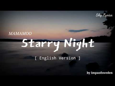 Mamamoo - Starry Night ( English Cover by Impaofsweden ) LYRICS indir