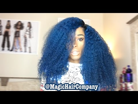 """"""" Blue Bird """" Wig From MagicHairCompany Review"""