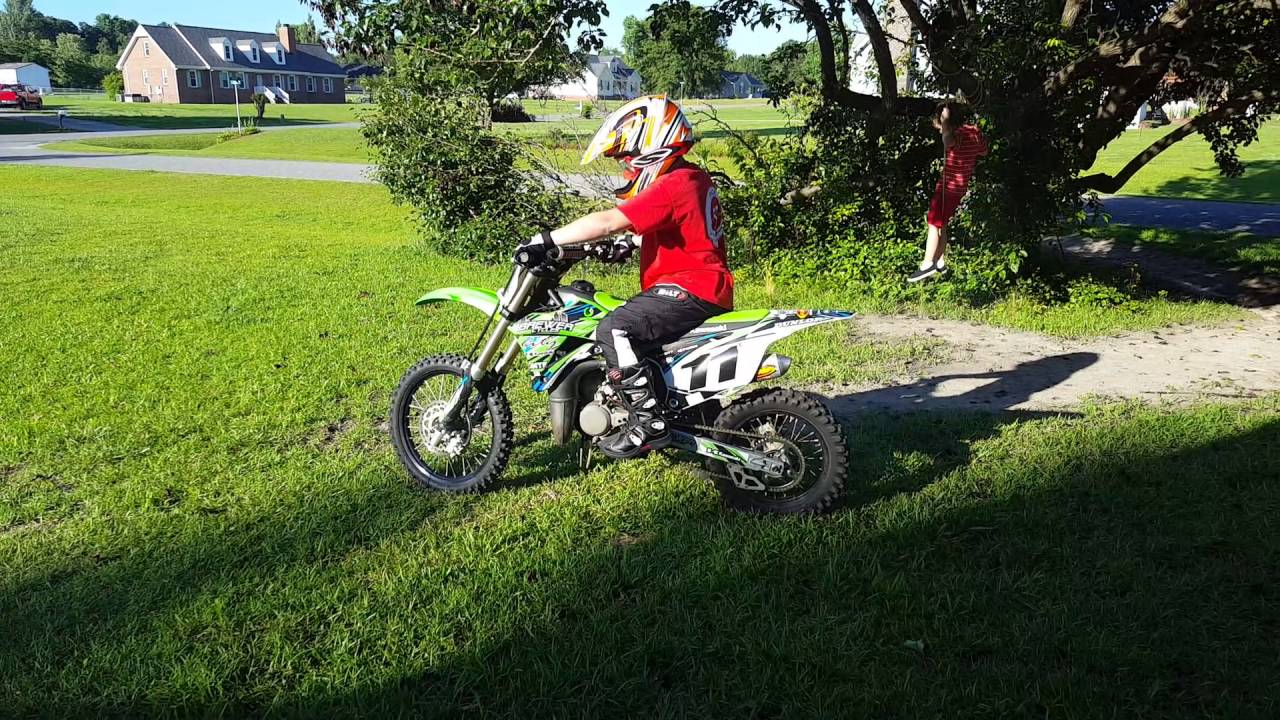 2014 Kx85 For Sale Youtube