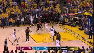 Cleveland Cavaliers defense on Stephen Curry