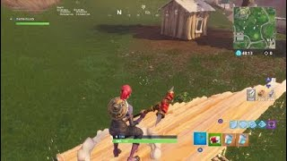 BUG-How to make invisible walls on fortnite !!!