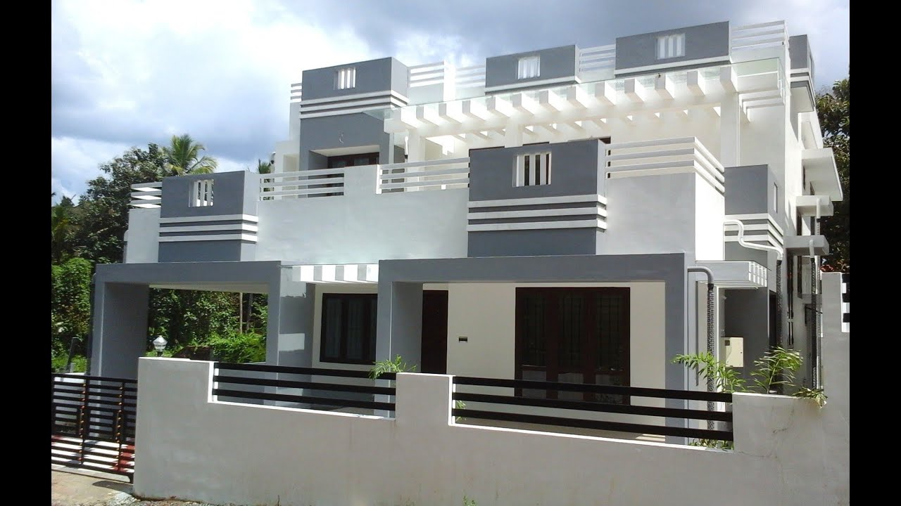6 cents plot and 2300 sq ft contemporary villa for sale in angamaly kochi near cial youtube