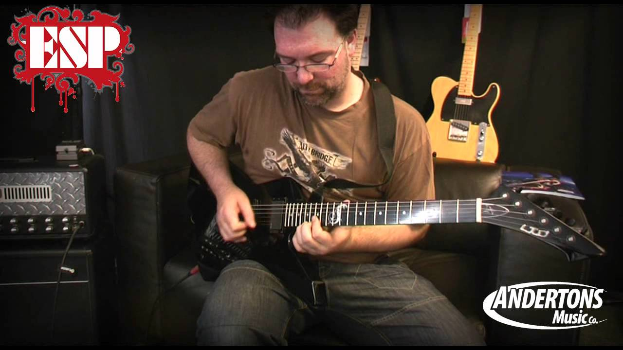Esp Ltd James Hetfield Snakebyte Demo