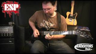 ESP LTD James Hetfield Snakebyte Demo