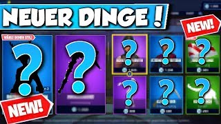 ❌NEW SKIN & TARNUNG in SHOP!! 😱 - NEW OBJECT SHOP in FORTNITE is DA!!