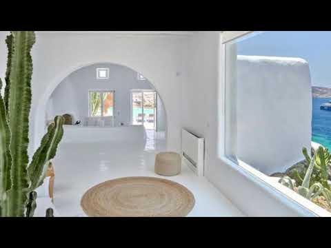 Sea View Holiday Villa Rental in Mykonos Greece