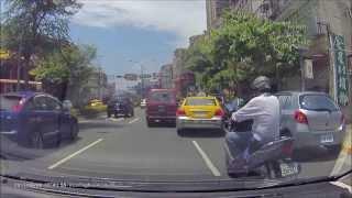 台灣大車隊 762-YF硬鑽車縫 刮到路邊BMW 烙跑  (Vico-TF2)