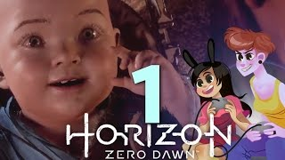 HORIZON ZERO DAWN - 2 GIRLS 1 LET'S PLAY GAMEPLAY WALKTHROUGH PART 1: ALLOY