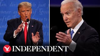 Watch again: Donald Trump and Joe Biden go head-to-head in the final presidential debate