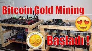 Bitcoin Gold Mining Başladı - Ekran Kartıyla Bitcoin Gold Madenciliği