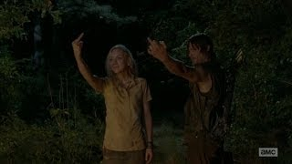 The Walking Dead 4x12 - Beth and Daryl Burn Down The House
