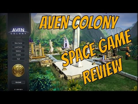 Aven Colony REVIEW - January 2017 [SPACE GAMES]