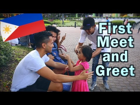 FIRST MEET AND GREET   PHILIPPINES TRAVEL VLOG