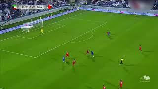 هدف منتخب الكويت الاول في مرمى منتخب عمان 2-1 يوسف ناصر - خليجي 24