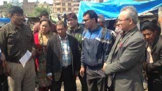 Mohan Baidya Kiran & Badal in Fire place
