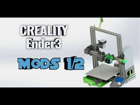 Repeat Ender 3 Mods Series Pt 1 Nema 17 stepper motor