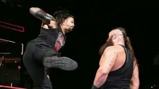 WWE TOP 10 SUPERMAN PUNCH OF ROMAN REIGNS 2018- ROMAN REIGNS
