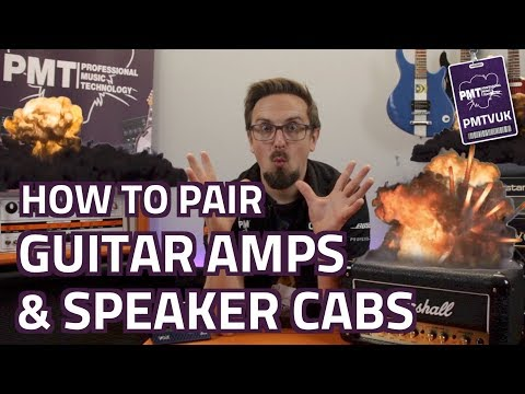 How To Pair Speaker Cabinets & Guitar Amps (Without Blowing Anything Up!)