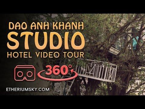 Luxury Art & Nature Hotel in Hanoi, Vietnam - 360VR Tour from Etherium Sky