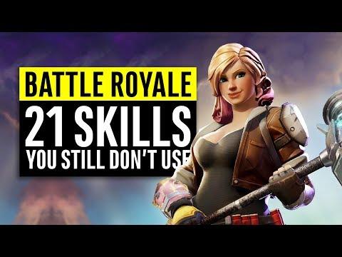 Fortnite Battle Royale | 21 Skills You Still Don't Use