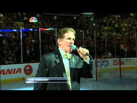 Boston Bruins post-Marathon Ceremony 4-17-13 #BostonStrong