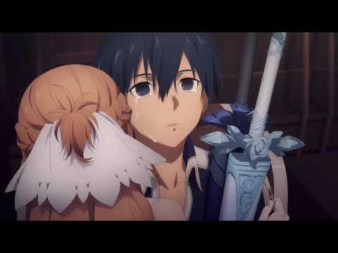 Asuna And Kirito S Reunion Sword Art Online War Of Underworld Episode 10 Youtube