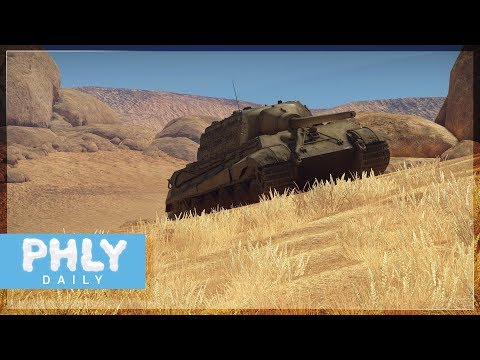 German HUNTING TIGER - Jagdtiger 128mm (War Thunder Tanks) Mp3
