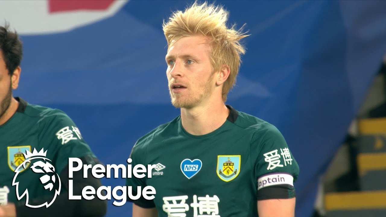 Ben Mee's header puts Burnley ahead of Crystal Palace | Premier League | NBC Sports