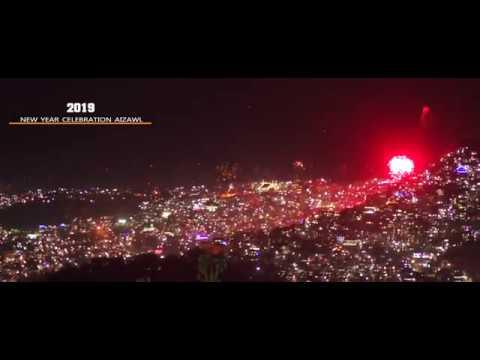 2019 new year celebration Aizawl