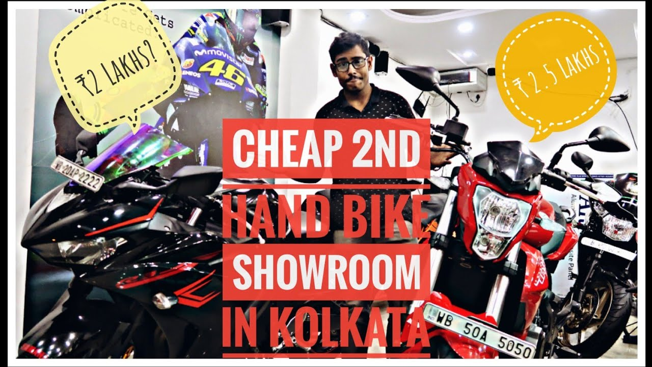 Cheapest 2nd Hand Bike Showroom Of Kolkata Emi Available