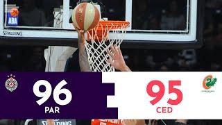 Partizan - Cedevita Olimpija 96:95| Pregled utakmice | ABA liga 2019/20
