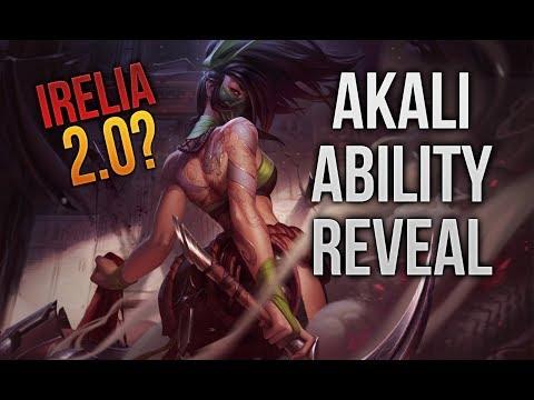 Irelia 2.0? Akali  Rework Ability Reveal [League of Legends] [Deutsch / German] thumbnail