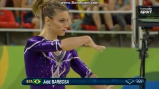 Jade Barbosa BRA Qual Fx Olympics Rio 2016