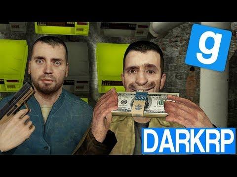 BANQUE UNDERGROUND ILLÉGALE - Garry's Mod DarkRP