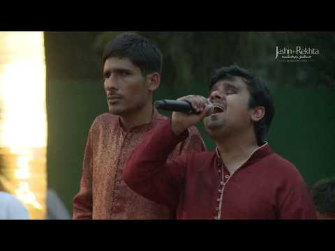 Maula Mere Lele Meri Jaan   Differently Abled Children   Jashn-e-Rekhta 2017
