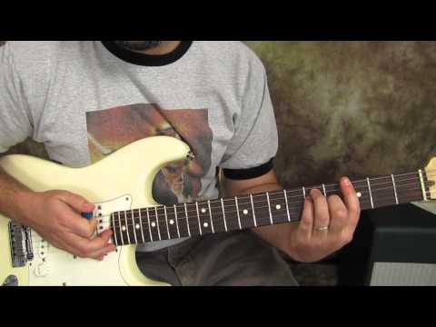 U2 - Sunday Bloody Sunday - Guitar Lessons - How to Play on Guitar - Fender Strat
