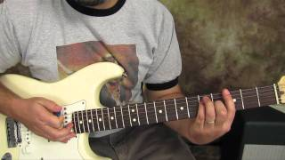 Download U2 - Sunday Bloody Sunday - Guitar Lessons - How to Play on Guitar - Fender Strat MP3 song and Music Video