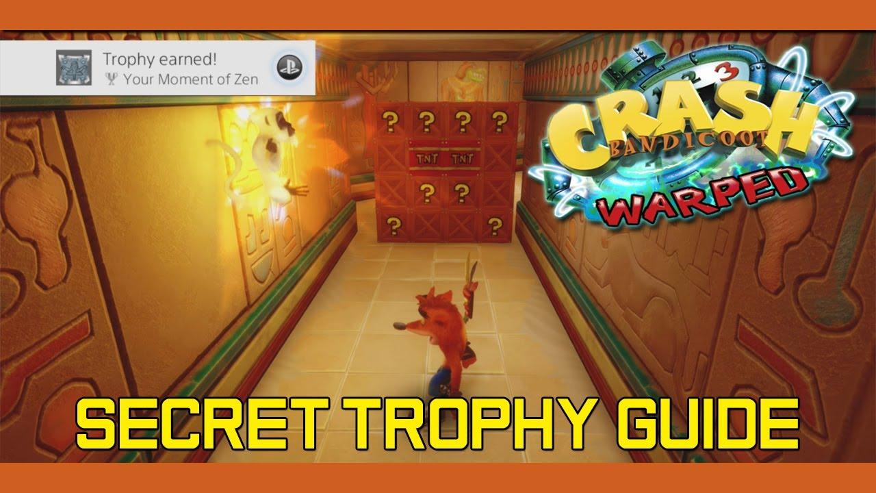 crash bandicoot 3 trophy guide ps4