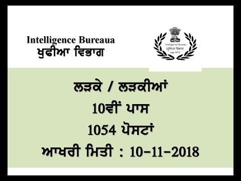Intelligence Bureau posts by Mehra Videos