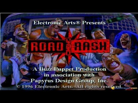 Road Rash gameplay (PC Game, 1994)