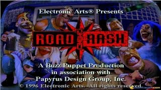 Road Rash gameplay (PC Game, 1994)