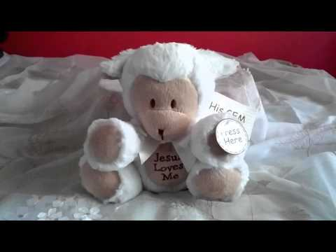 Plush Musical Lamb - Jesus Loves My resume
