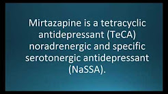 How to pronounce mirtazapine (Remeron) (Memorizing Pharmacology Flashcard)