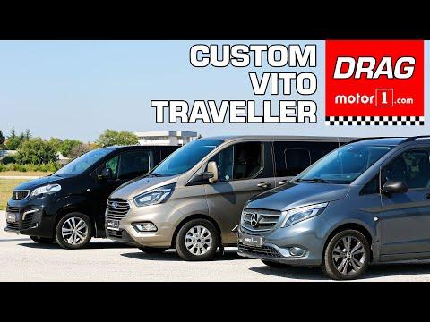 Drag & Rolling Yarışı! | Mercedes-Benz Vito Vs. Peugeot Expert Traveller Vs. Ford Tourneo Custom
