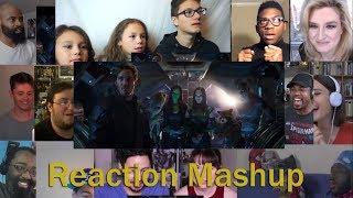 marvel studios avengers infinity war official trailer reaction mashup