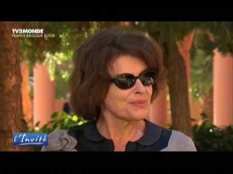 Fanny Ardant au Festival du Film de Marrakech