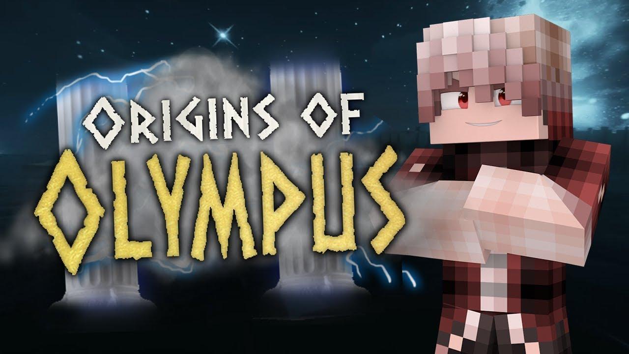 Minecraft: Origins of Olympus Trailer [Minecraft PERCY JACKSON Roleplay]